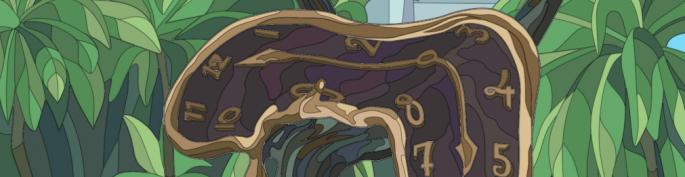 Dali banner postaus kellokortilla